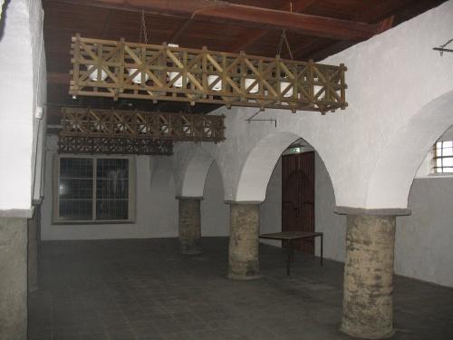 Padise külastuskeskuse näitusesaal