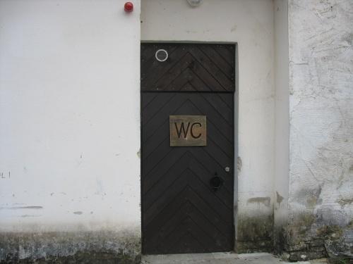 Avalik WC Padise külastuskeskuses